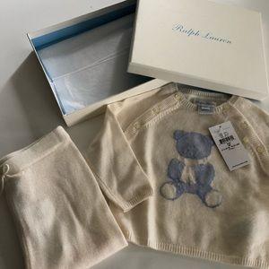 Ralph Lauren Cashmere Infant Set 9M